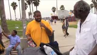 WGN: 08.02.14 -Brother Ahyalyam edifies a Brother on Venice Beach