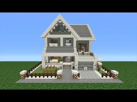 Minecraft Suburban House Tutorial Tsmc | Minecraft House