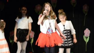 Ana Maria Mitrea (12 y/o) - I knew you were troube (Taylor Swift LIVE COVER)