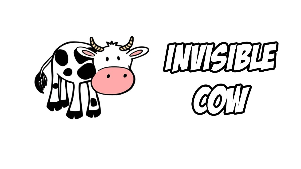 Find the invisible cow youtube