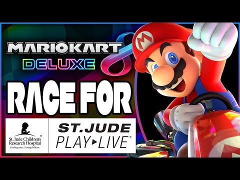 St. Jude PLAY LIVE Charity Livestream - Mario Kart 8 Deluxe With Fans! (DAY ONE of EIGHT)