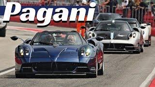 5x Pagani Hypercars!!! - Huayra BC, Macchina Volante, Huayra Roadster, Zonda F & Zonda Revolucion