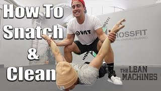 How To Snatch And Clean & Jerk. With Sonny Webster #36