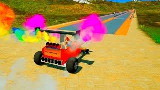 Lego High Speed Crashes #8   Brick Rigs
