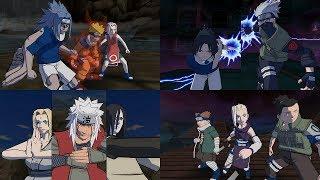 Naruto Gekitou Ninja Taisen 4 - All Team Ultimate Jutsu Ougi 1080p 60 FPS