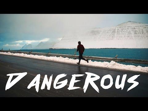 DANGEROUS SNOWSTORM IN FAROE ISLANDS