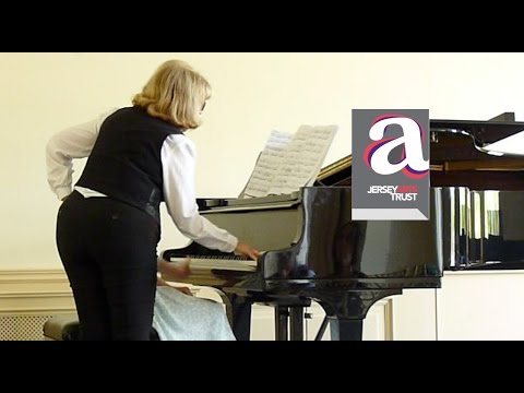 Lillian Master Class Idil Biret - Chopin Nocturne in D flat op27 no2 - from the Jersey Arts Trust