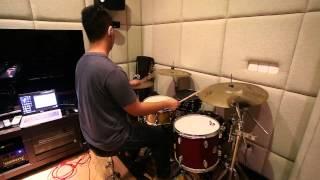 Indah Dewi Pertiwi - CURIGA drum cover