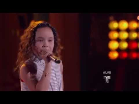 Samantha canta 'Cake  the Ocean' de DNCE   La Voz Kids 2016