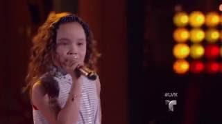 Samantha canta 'Cake by the Ocean' de DNCE  | La Voz Kids 2016