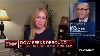 Harvard Economics Professor Predicts Coronavirus-driven Recession: We're In A War