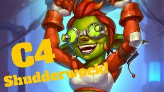 Seaforium Bomber Shudderwock! Augmented Elekk Combo [Hearthstone Game of the Day]