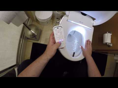How The Brondell Swash 1000 Bidet Toilet Seat Works Doovi