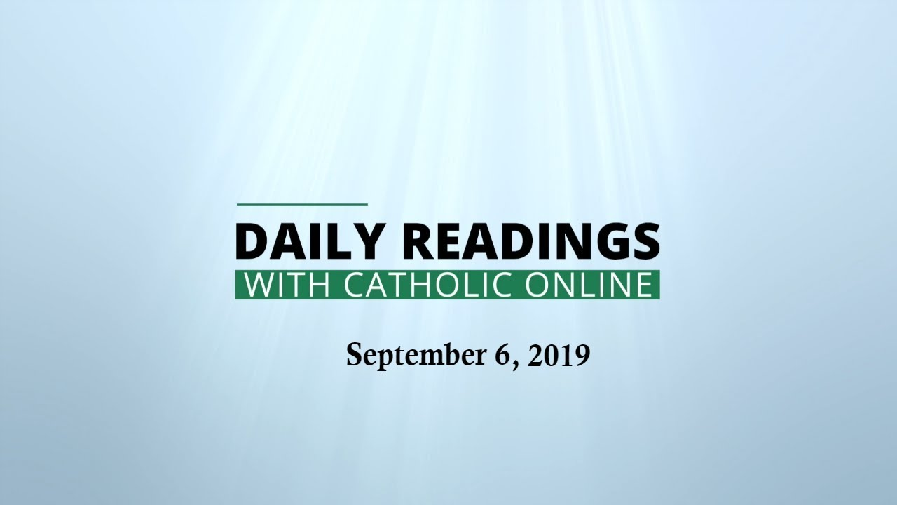 Daily Reading for Friday, September 6th, 2019 HD