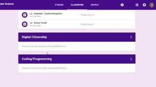 Spreadsheet Basics - Computer Science Interest Survey