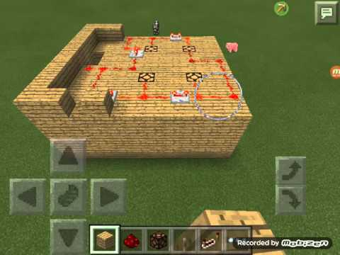 how to make a working train in minecraft pe