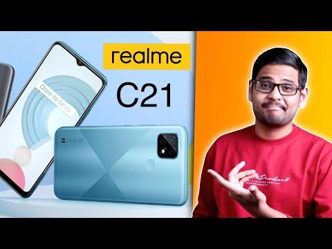 Realme C21 - Good Budget Phone at Rs.7999