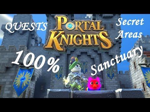 Portal Knight's Sanctuary All Quests/Secret Areas Tutorial!