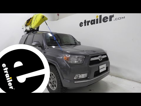 etrailer | Thule Hull-A-Port Aero Kayak Carrier Review