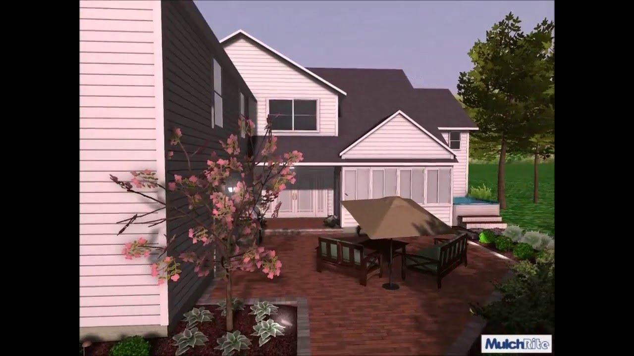 Paver Patio 3D Redesign And Construction   Mulch Rite