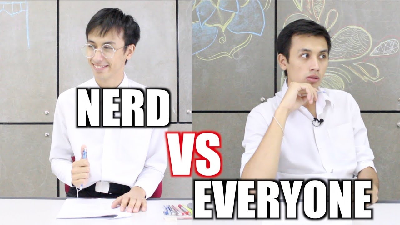 Nerd VS Everyone During an Exam
