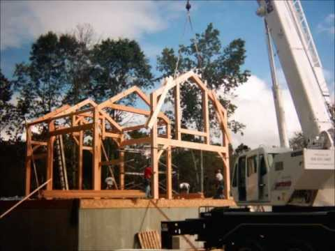 Building a New Timber Frame Home in New Jersey
