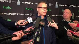 Winnipeg Jets coach Paul Maurice, April 24, 2018 thumbnail