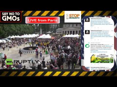 Thousands march against Monsanto across the World - Live Stream(s)
