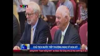 U.S. Senator Ben Cardin Meets with Vietnamese Senior Leaders and Holds a Press roundtable