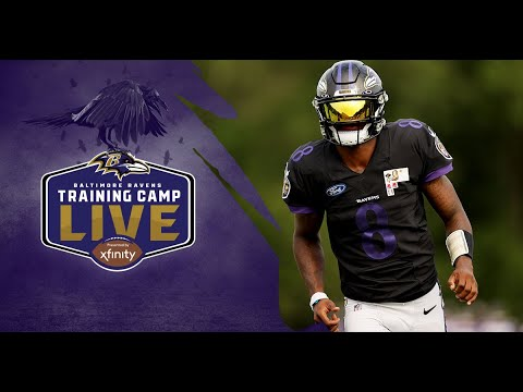 Training Camp Live Day FOUR | Baltimore Ravens