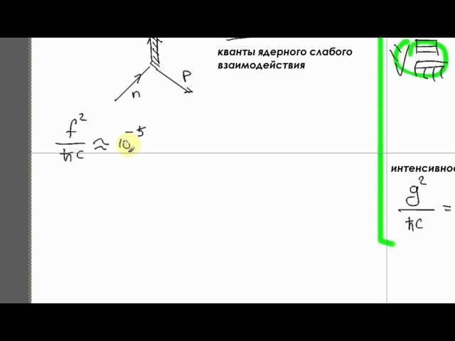 Ядерная физика. Лекция 2. Часть 1