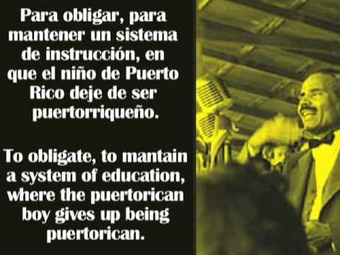 Albizu Campos habla sobre el Estado Libre Asociado de Puerto Rico (PARTE 2 de 3)