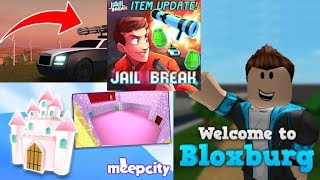 😋 TROLANDO NO ROBLOX 😃 PLAYING UBER 🤗 GIVING TIPS TO GET RICH JAILBREAK AND MEEPCITY!