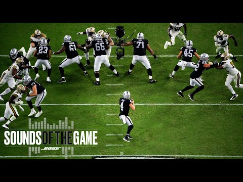 [Highlight] Sounds of the Game: Raiders Historic Week 2 Victory vs. Saints on MNF