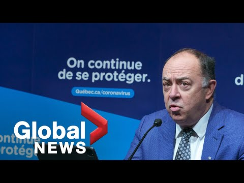 Coronavirus: Quebec health minister faces questions on vaccine registrations | FULL