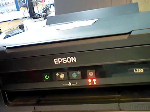 Epson L210 Red light blinking error(Solved)!!!!(Part1of2)
