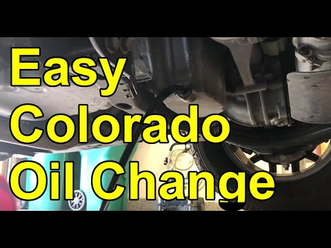 How To Change Engine Oil On A 2015 2020 Chevy Colorado Gmc