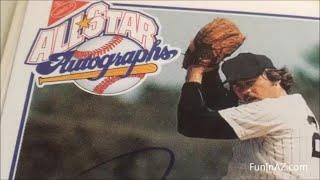 Vintage Baseball Cards Nabisco All-star Autographs Jim Catfish Hunter Signed Cards