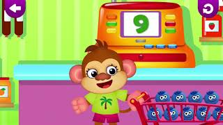 Learn to Count From 1st to 9th. Learn to Cound for Preschool and Kindergarten.