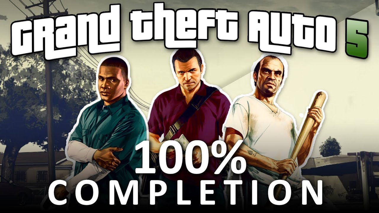 Download GTA V 100% Completion - Full Game Walkthrough (1080p 60fps)