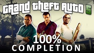 GTA V 100% CompĮetion - Full Game Walkthrough (1080p 60fps)