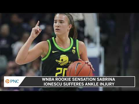 Sabrina Ionescu suffers sprained ankle in New York Liberty's WNBA ...