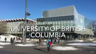 [4K UHD] University of British Columbia White Winter thumbnail