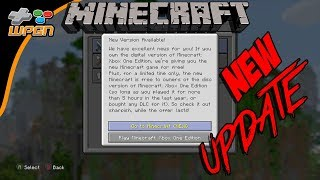 Minecrarft Major Update!!! Xbox One and Other systems - New Xbox one / pc/ windows 10 / vr / mobile