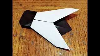 How to make an easy paper housefly ll Paper craft ll Origami housefly