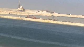 The completion of the dredging 92% of the new Suez Canal in the memory of the second isolate Morsi