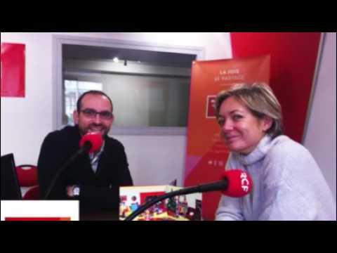 Le livre à jouer de Mademoiselle Cartonne à la radio RCF Isére