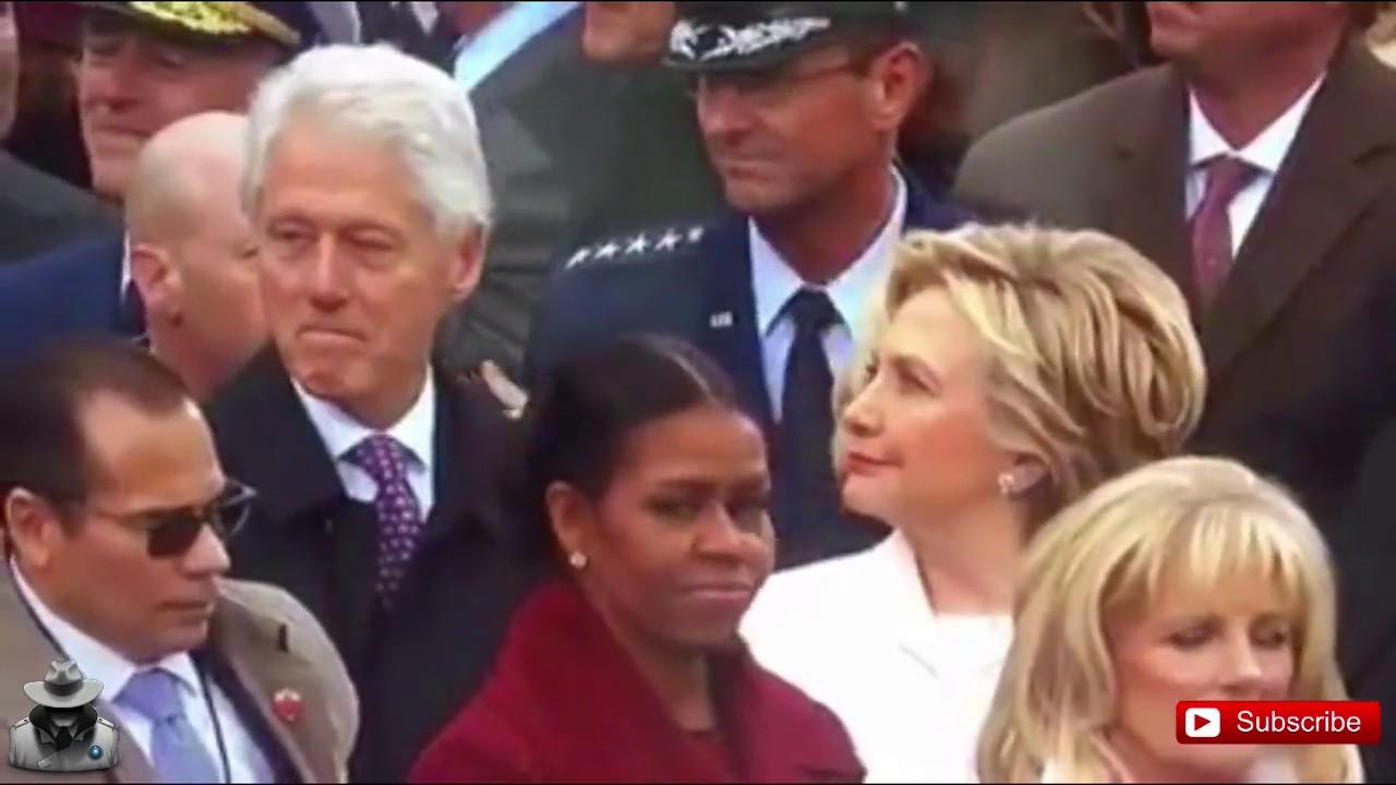 Bill Clinton BUSTED by Hillary Staring at Ivanka Trump