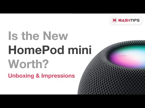 Apple HomePod Mini with Siri Unboxing & First Impressions   Is it Worth Buying for $99?