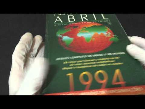 COMPRE AGORA: 1994 Almanaque Abril A enciclopédia em um só volume